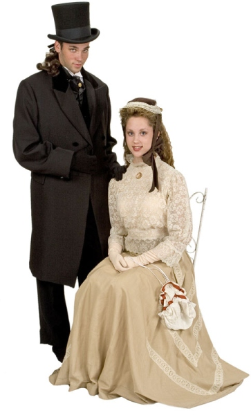 Rental Costumes for Jekyll and Hyde the Musical - Dr. Henry Jekyll, Emma Carew