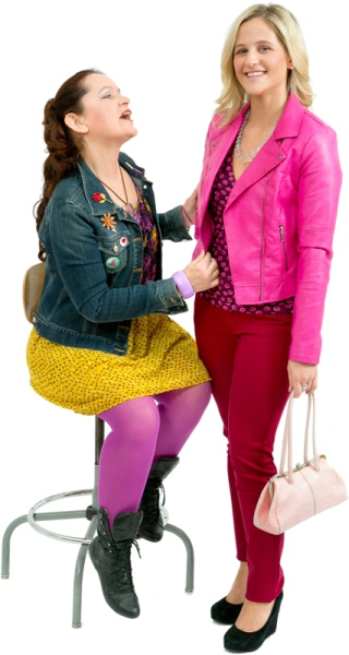 Rental Costumes for Legally Blonde - Elle Woods & Paulette