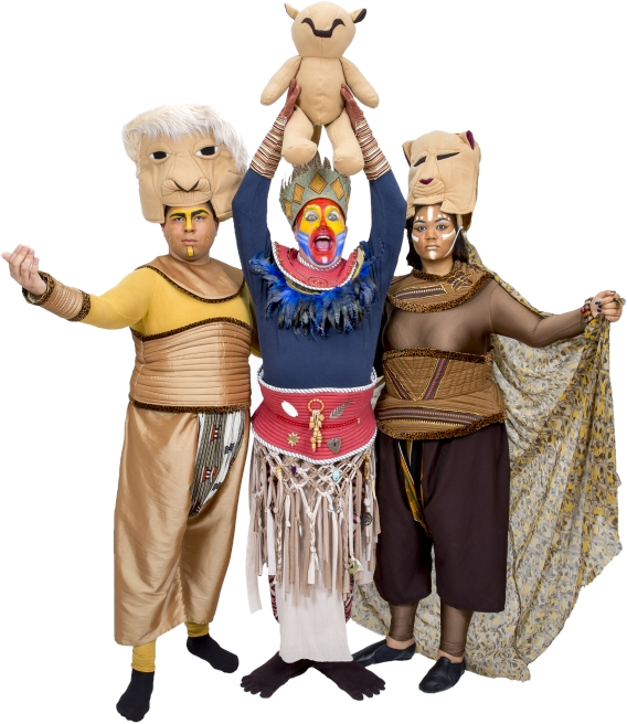Rental Costumes for The Lion King - Mufasa, Rafiki, Sarabi