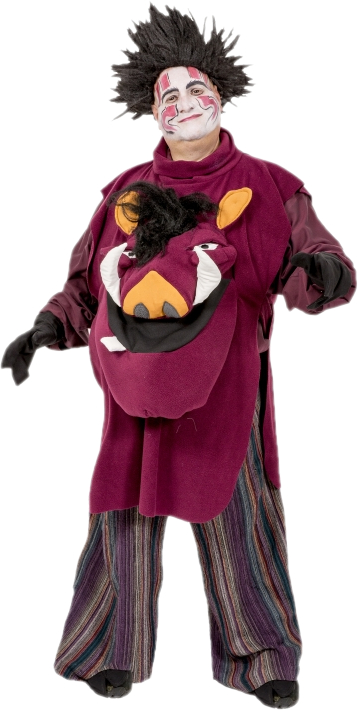 Rental Costumes For The Lion King   Pumbaa