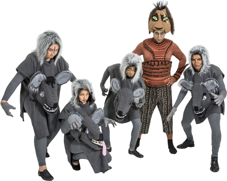 Rental Costumes For The Lion King   Scar, Hyenas