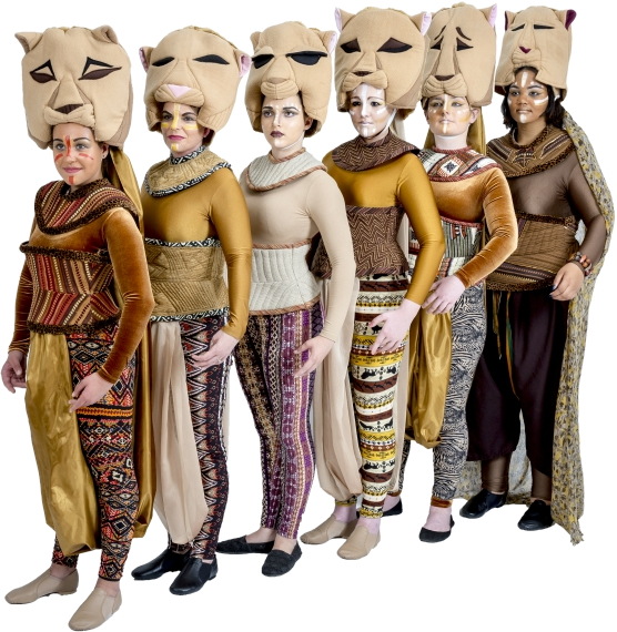 Rental Costumes for The Lion King - Lionesses