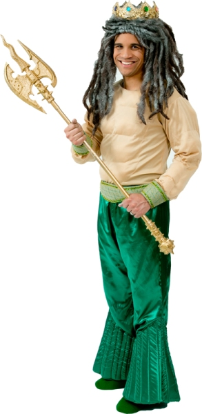 Rental Costumes for Disney's The Little Mermaid - King Triton