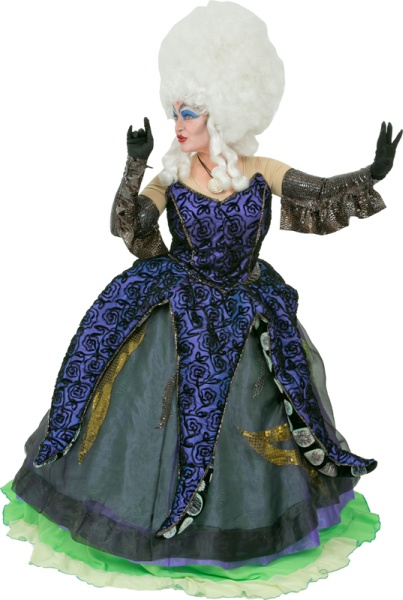 Rental Costumes for Disneyu0027s The Little Mermaid - Ursula  sc 1 st  The Costumer & The Little Mermaid Costume Rentals