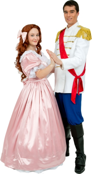 Rental Costumes for Disney's The Little Mermaid - Ariel, Prince Eric