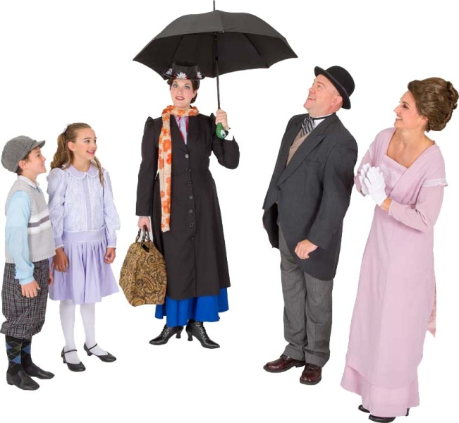 Mary Poppins Costume Rentals