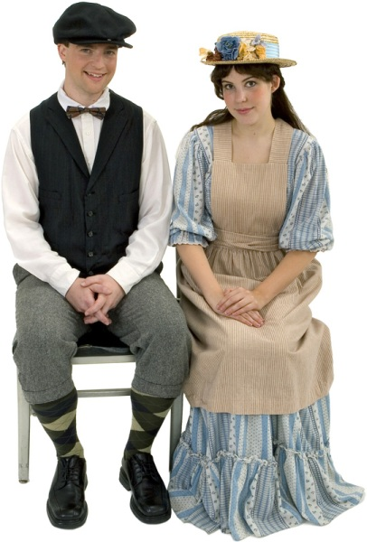 Rental Costumes for Our Town - George Gibbs, Emily Webb