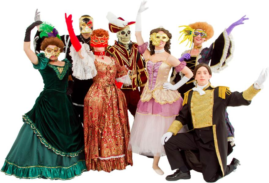 0556369de5de1 Rental Costumes for Phantom of the Opera , Andrew Lloyd Webber version -  Female Masquerader,