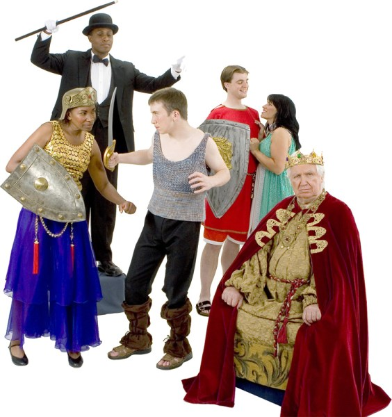 Rental Costumes for Pippin - Leading Player, Chorus, Pippin, Chorus, Catherine, Charlegmane
