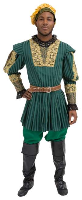 Rental Costumes for Renaissance And Elizabethan Male 1