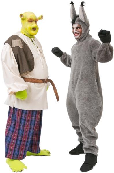 Rental Costumes for Shrek the Musical - Shrek and Donkey  sc 1 st  The Costumer & Shrek Costume Rentals