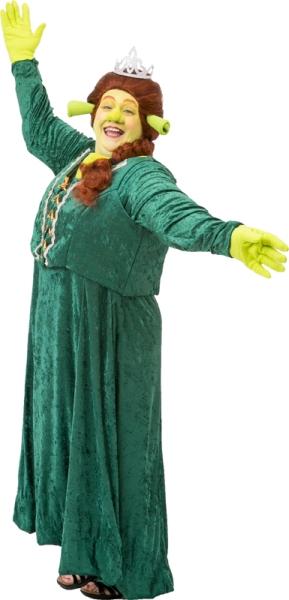 Rental Costumes for Shrek the Musical - Princess Fiona as Ogre  sc 1 st  The Costumer & Shrek Costume Rentals