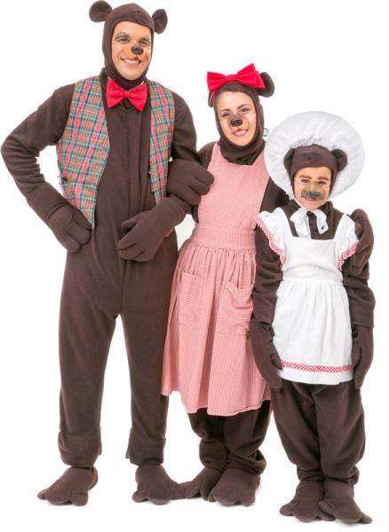 Rental Costumes for Shrek the Musical - Bear Family  sc 1 st  The Costumer & Shrek Costume Rentals