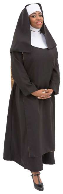 Rental Costumes for Sister Act Delores in Nun Habit