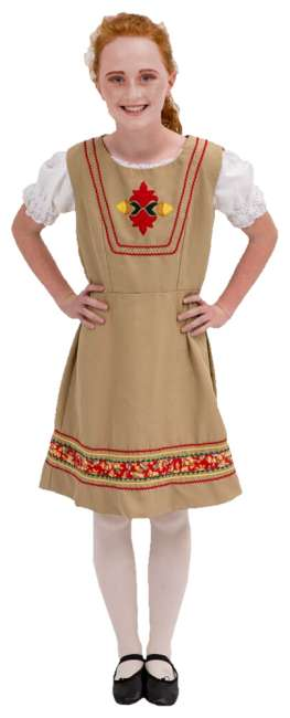 Rental Costumes for The Sound of Music Tyrolean Dress