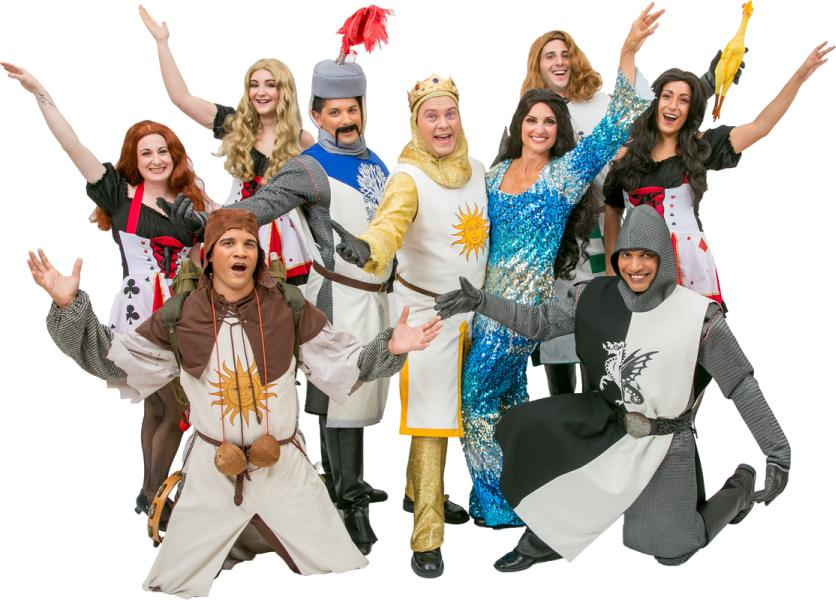 Rental Costumes for Monty Python's Spamalot - Spamalot Cast