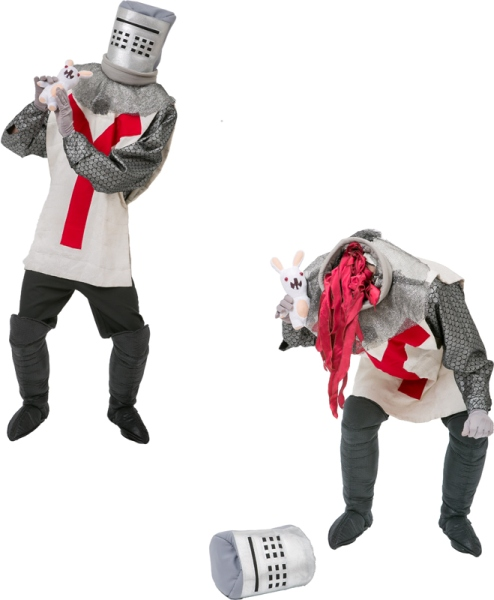 Rental Costumes for Monty Python's Spamalot - Bors and Rabbit