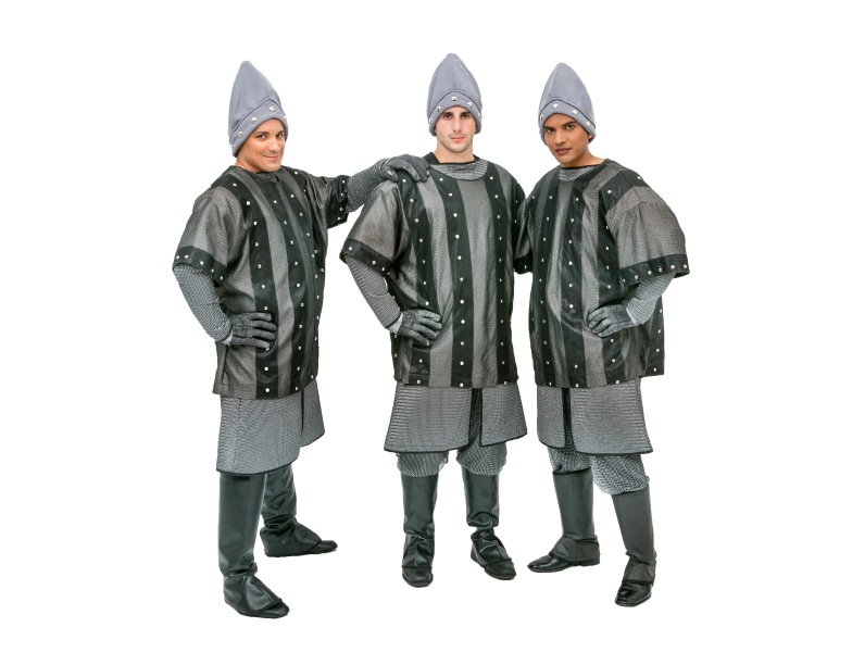 Rental Costumes for Monty Python's Spamalot - Mocking French Knights