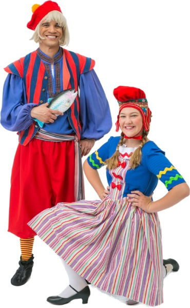Rental Costumes for Monty Python's Spamalot - Finnish People