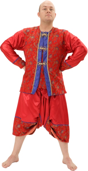 Rental Costumes for The King and I - King of Siam