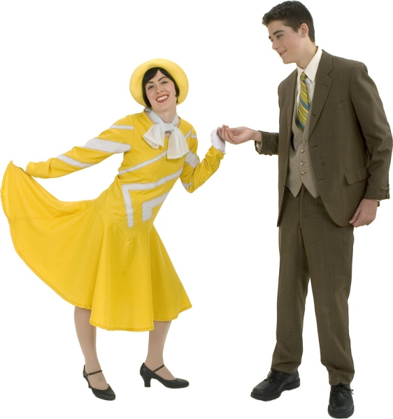 Rental Costumes for Thoroughly Modern Millie - Millie Dillmount, Jimmy Smith