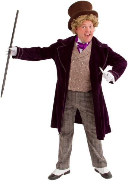 Rental Costumes for Willy Wonka and the Chocolate Factory - Willy Wonka