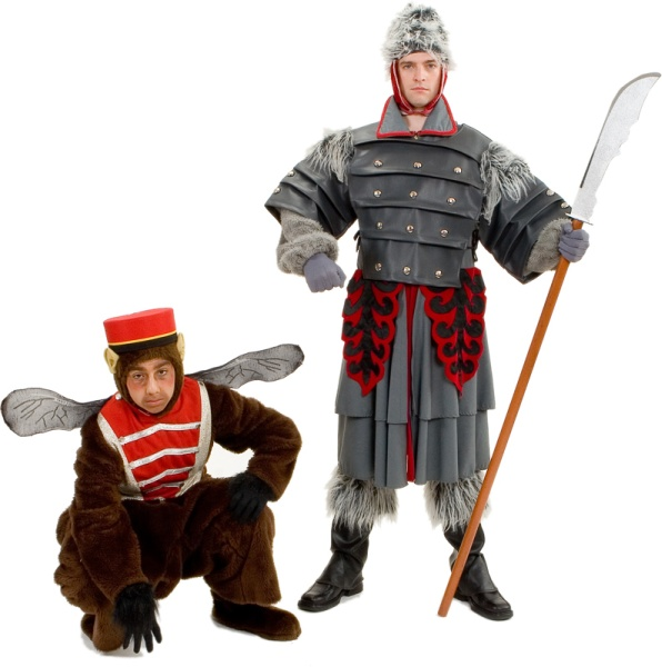 Rental Costumes for The Wizard of Oz - Flying Monkey, Winkie Guard General