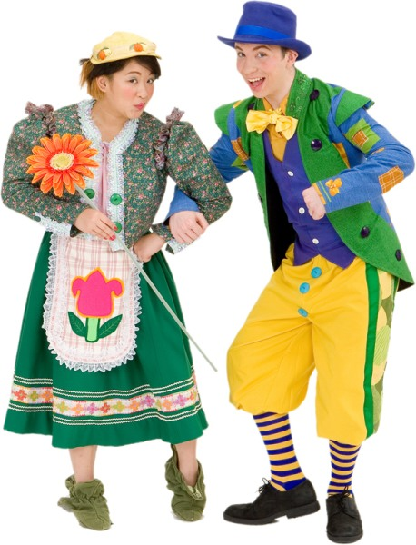 Rental Costumes for The Wizard of Oz - Female Munchkin, Male Munchkin
