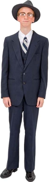 Rental Costume for Young Frankenstein – Dr. Frederick Frankenstein in his suit