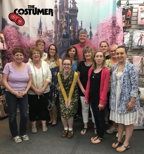 Grace White International Thespian Society Intern for The Costumer last days with The Costumer